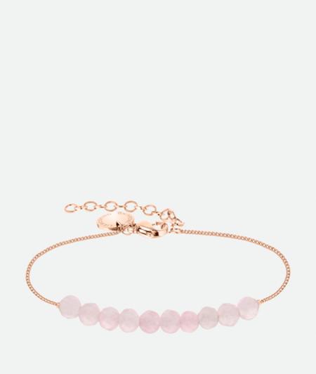 Armband mit Edelsteinperlen