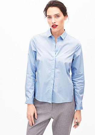 Elastische blouse met schootje