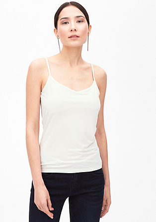 Sleek strappy top from s.Oliver