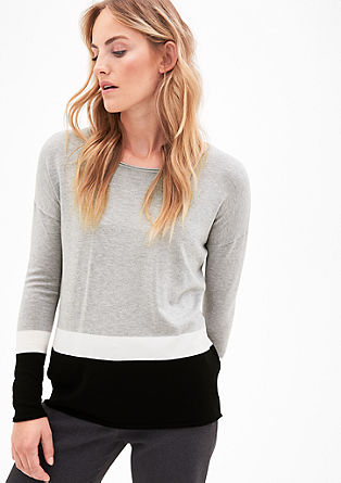 Soft fine knit jumper from s.Oliver