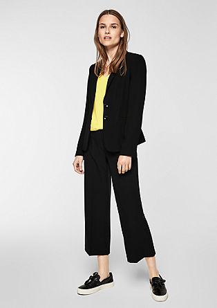 Culotte: elegantní látkové kalhoty