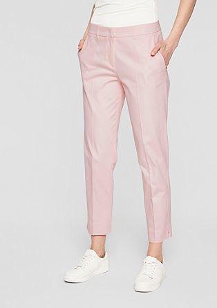 Rita Comfort: ankle-length satin trousers from s.Oliver
