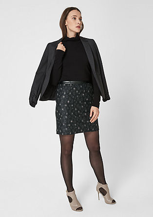 Wool-look skirt  from s.Oliver