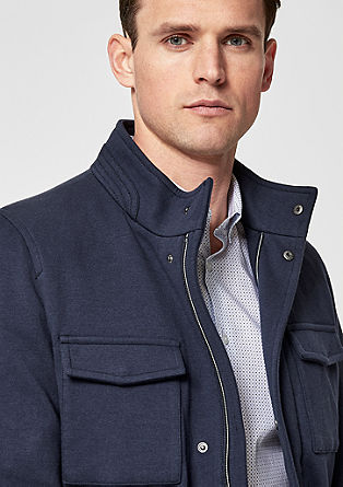 Transitional jacket in a sweatshirt style from s.Oliver