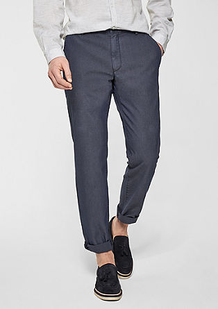 Mauro Slim: business trousers from s.Oliver