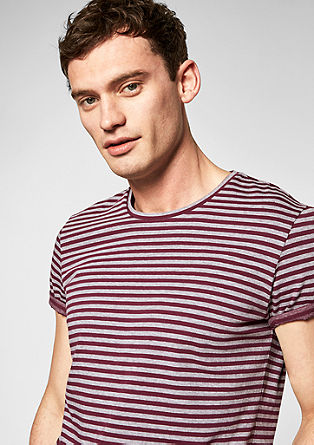 Striped crew neck T-shirt from s.Oliver