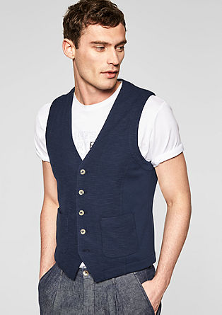 Mens Waistcoat s.Oliver Black Label Clearance Discounts Cheap Sale Outlet Store Free Shipping Release Dates dUh1T5IP9O