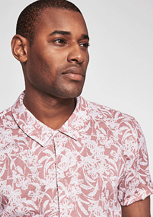 Slim: lightweight Hawaiian shirt from s.Oliver