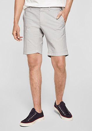 Frederico Slim: striped Bermudas from s.Oliver