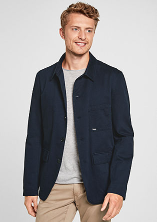 Jacke im Sakko-Style