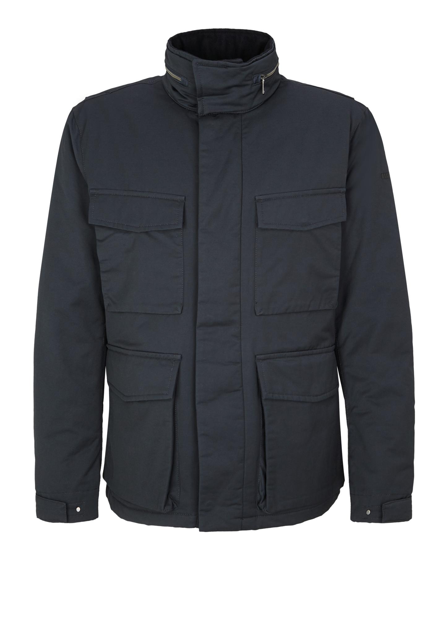 Winterjacke   Bekleidung > Jacken > Winterjacken   Blau   Obermaterial 65% baumwolle -  35% polyester  futter und füllmaterial 100% polyester   s.Oliver BLACK LABEL
