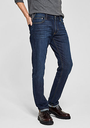 Stretto Slim: dark jeans from s.Oliver