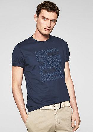T-shirt met een tekstprint