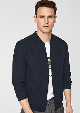 Cardigan in a bomber style from s.Oliver