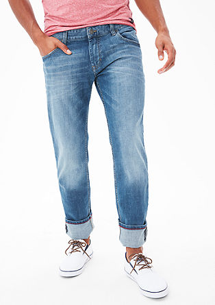 Tubx Straight: blue jeans from s.Oliver