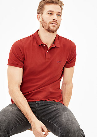 Cotton piqué polo shirt from s.Oliver