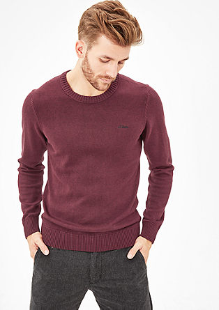 Classic fine knit jumper from s.Oliver