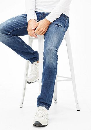 Close Slim: jeans hlače z raztrganinami