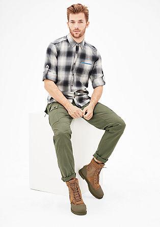 Tubx Regular: hlače chino v slogu kargo
