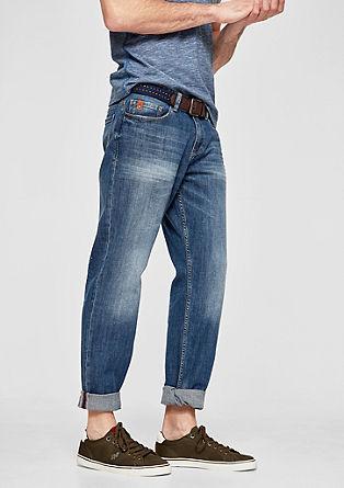 Scube Relaxed: jeans hlače s pasom