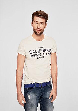 Majica iz džersija s spranim učinkom