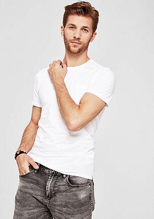 Slim: Atmungsaktives Jersey-Shirt