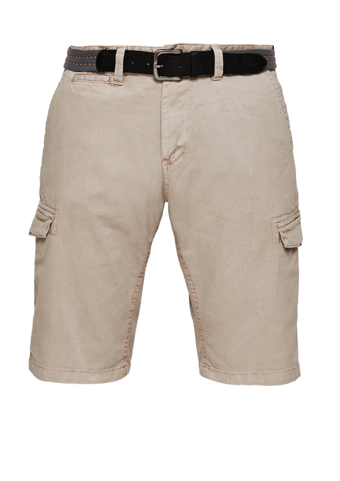 Bermuda | Bekleidung > Shorts & Bermudas > Bermudas | Beige | Oberstoff: 98% baumwolle -  2% elasthan| futter: 65% polyester -  35% baumwolle | s.Oliver