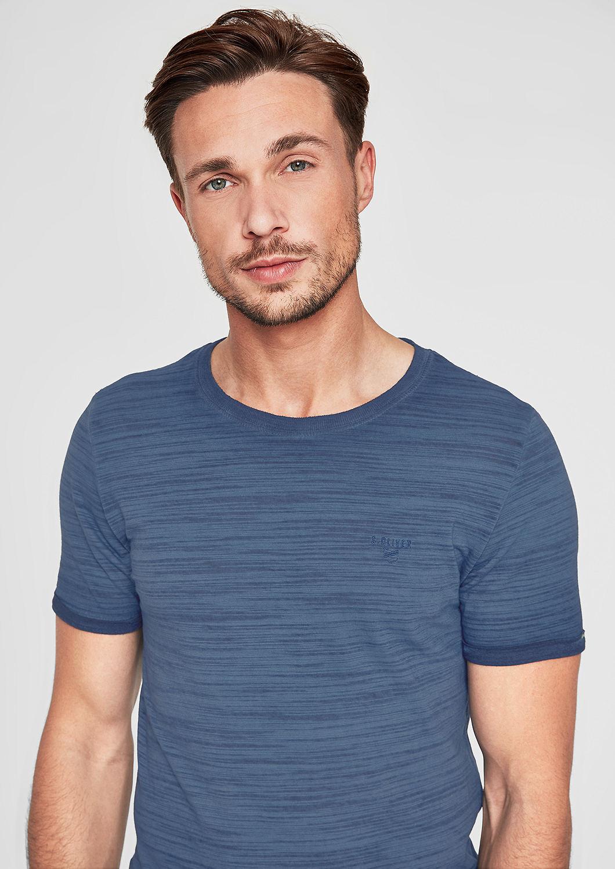 s.Oliver - Slim: Lässiges Slub Yarn-Shirt - 5