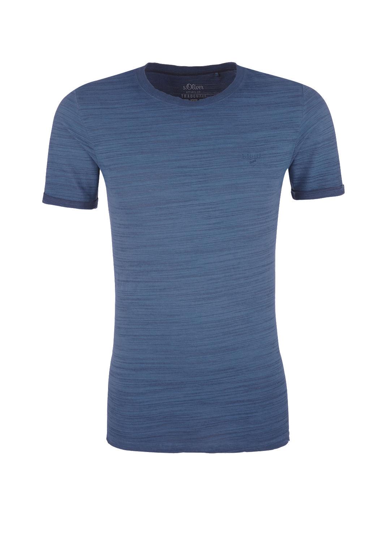 s.Oliver - Slim: Lässiges Slub Yarn-Shirt - 4