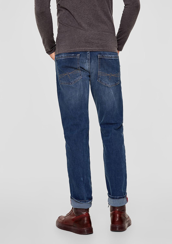 s.Oliver - Tubx Regular: Jeans mit Destroyes - 3