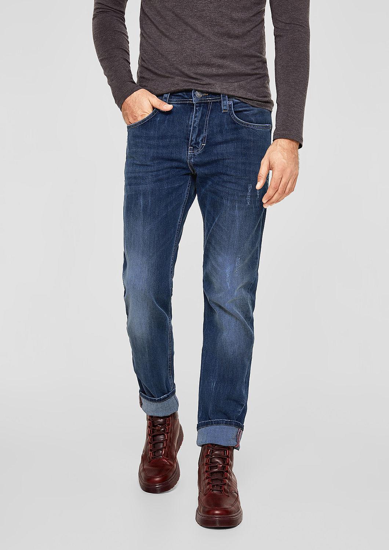 s.Oliver - Tubx Regular: Jeans mit Destroyes - 5
