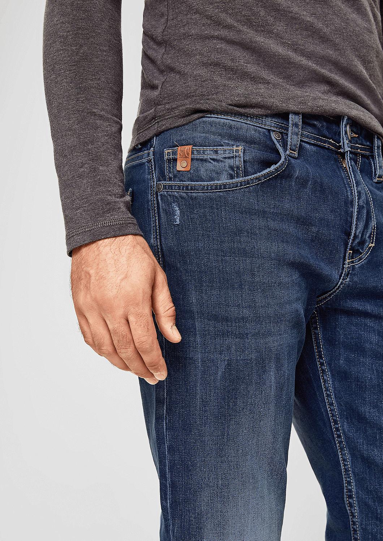 s.Oliver - Tubx Regular: Jeans mit Destroyes - 6