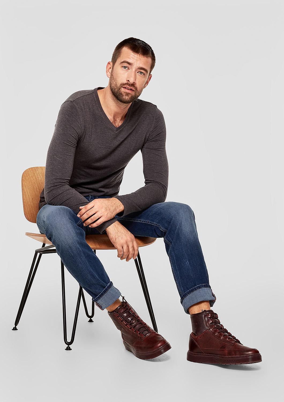 s.Oliver - Tubx Regular: Jeans mit Destroyes - 2