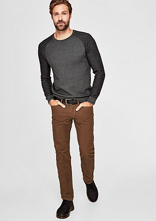Close Slim: Corduroy trousers from s.Oliver