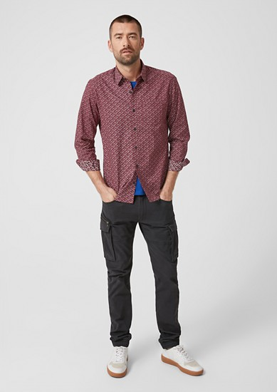 Regular: chemise à motif imprimé de s.Oliver
