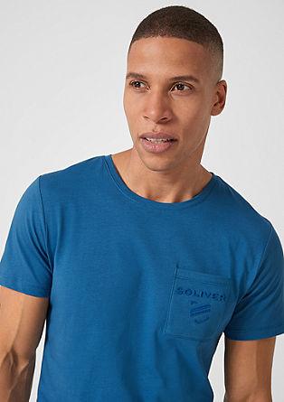 T-shirt met ingewerkt label