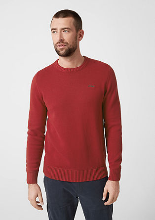 Cotton knit jumper from s.Oliver
