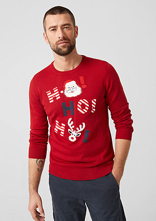 Christmas jumper from s.Oliver