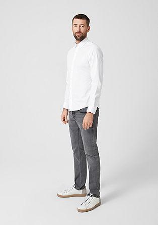Slim: elegant stretchoverhemd