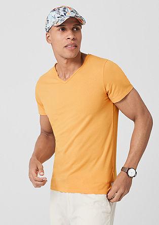Jerseyshirt mit Destroyed-Detail