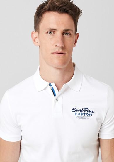 Slim: Poloshirt aus Jersey