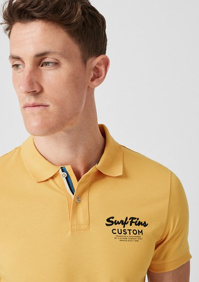 Slim: Jersey polo shirt from s.Oliver
