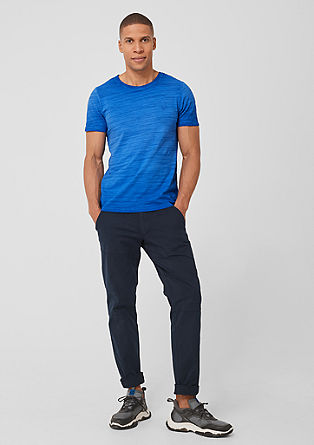 Slim: T-shirt with a garment-dyed finish from s.Oliver
