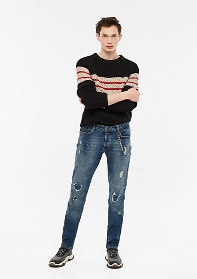 Rick Slim: jeans obrabljenega videza