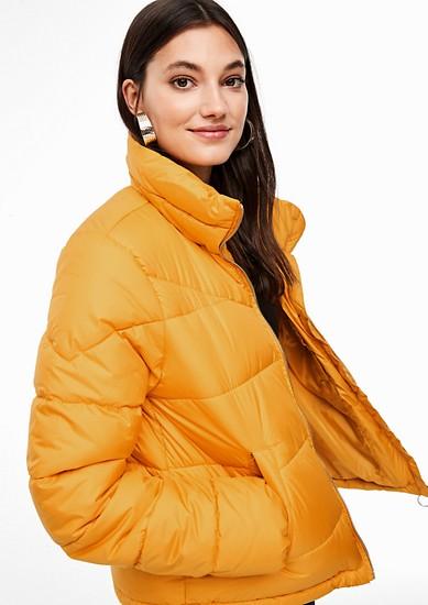 Warme, gewatteerde jas