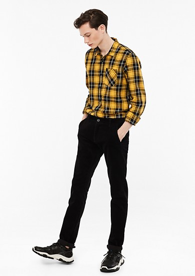 Rick Slim: Corduroy trousers from s.Oliver