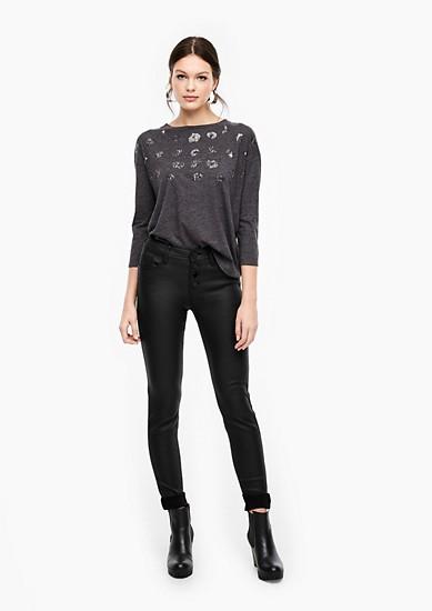 Sadie Superskinny: Jeans mit Coating