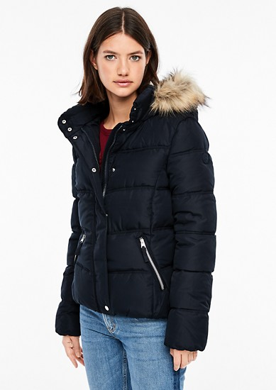 Winterjacke mit Fake Fur