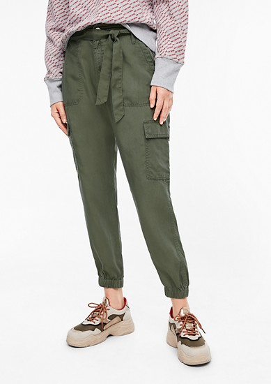 Flowing cargo trousers from s.Oliver