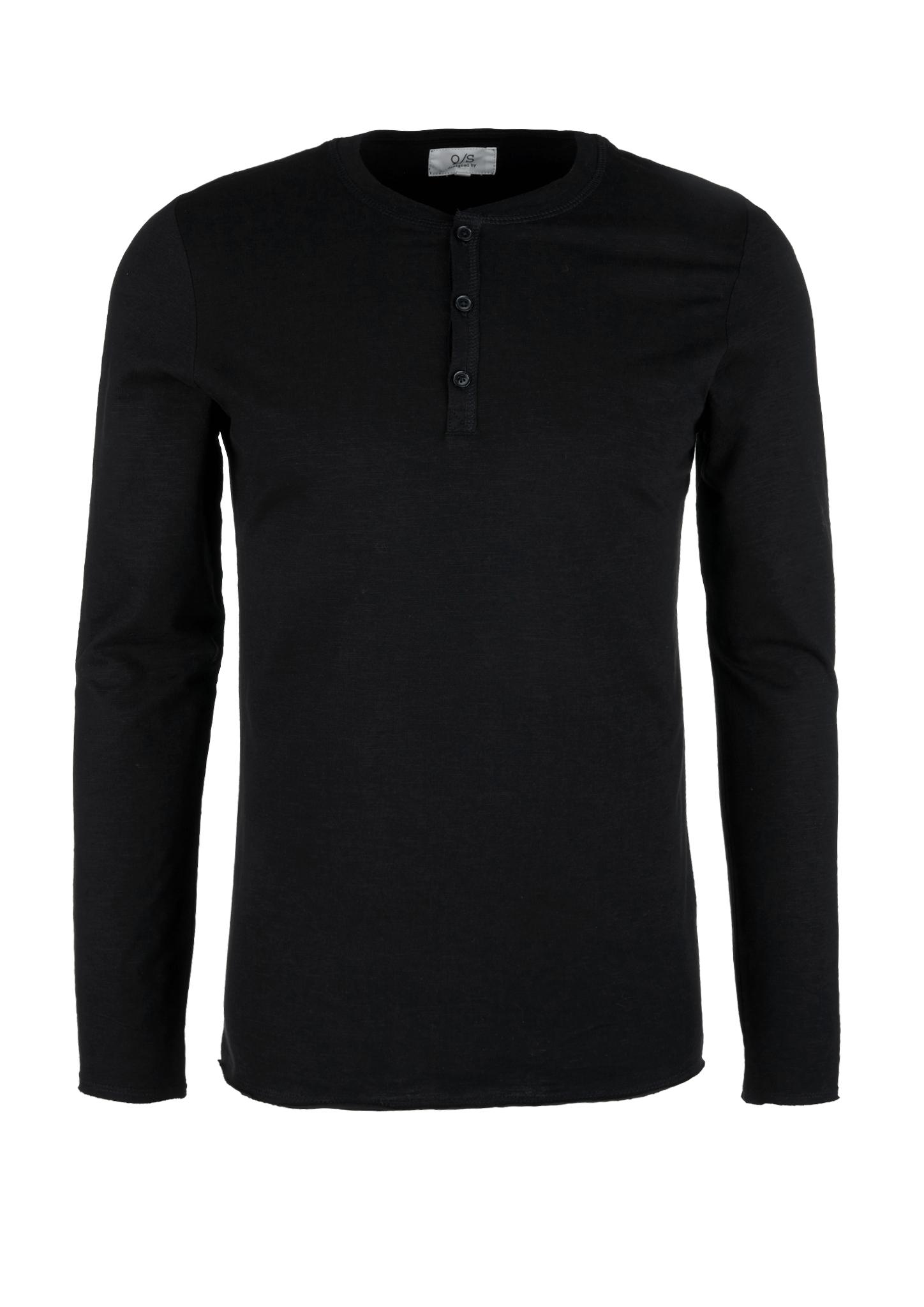 Q-S-designed-by-Denim-Men-vertikal-Henleyshirt-aus-Flammgarn-Neu Indexbild 15
